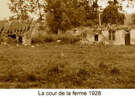 Cour de la ferme 1928