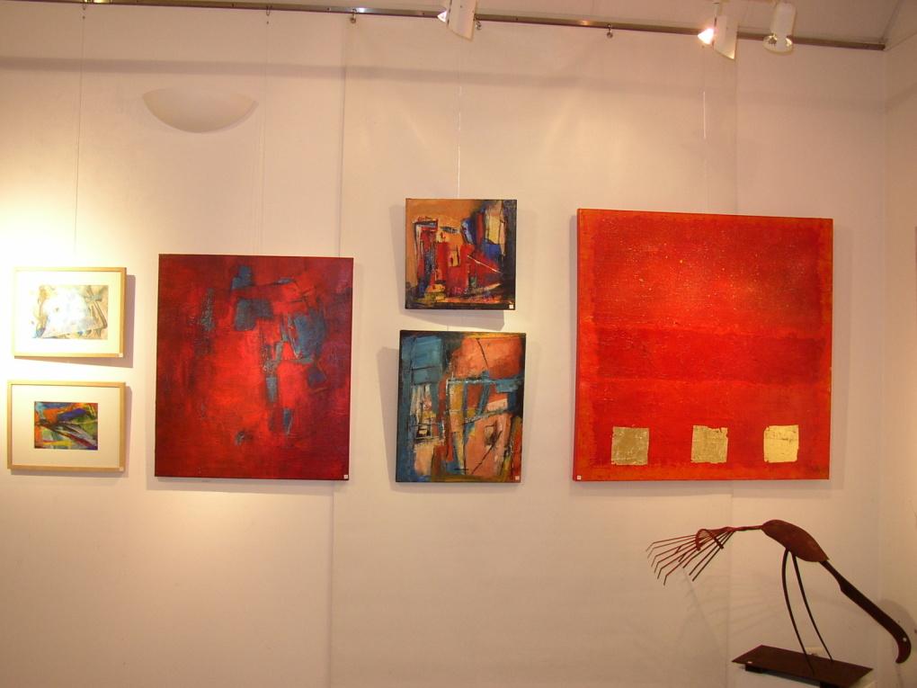Saint Jean aux Bois et les Arts Pigments & matières Exposition du 17 au 25 septembre 2011