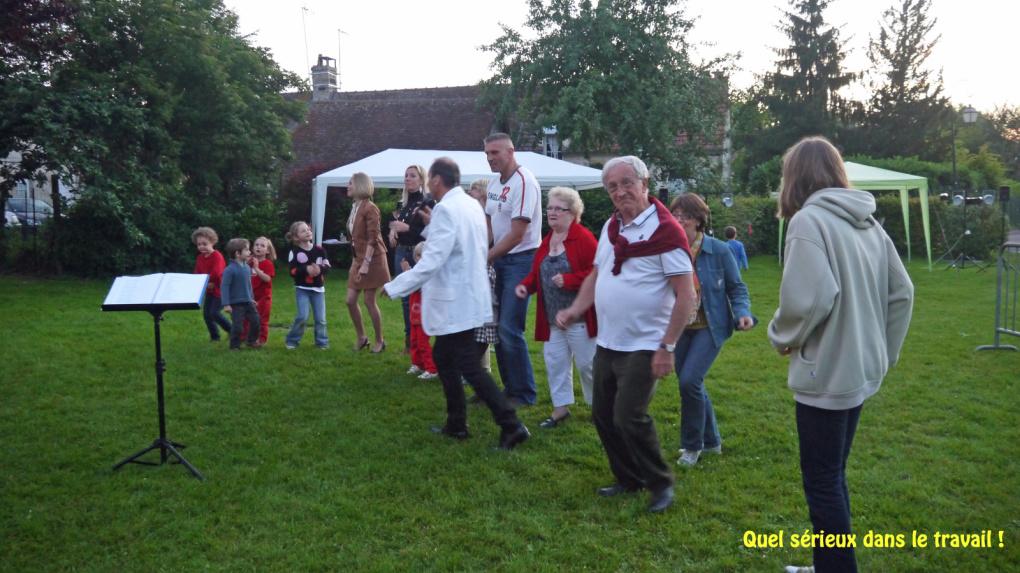 Samedi 23 juin  réjouissances au village