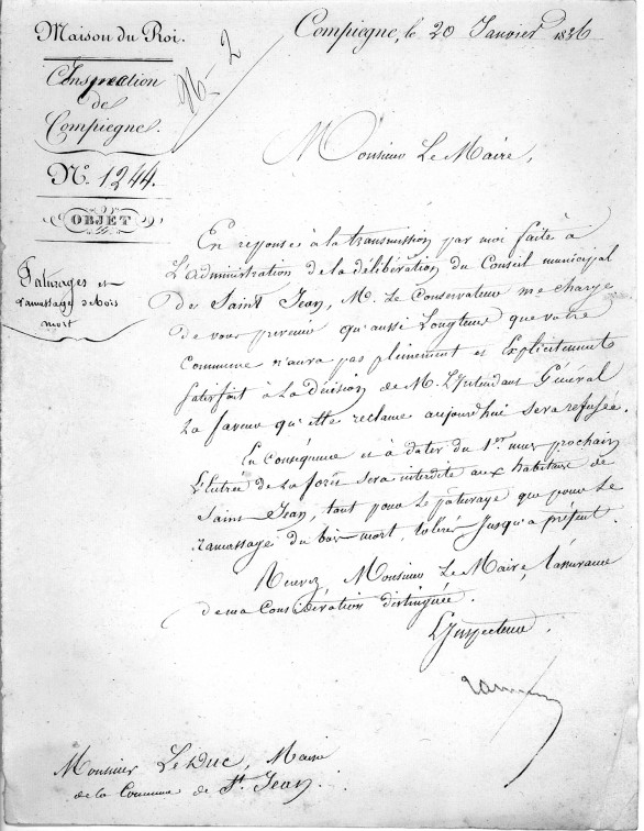 20 janv. 1836 Pâturage