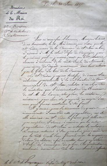 30 juin 1827