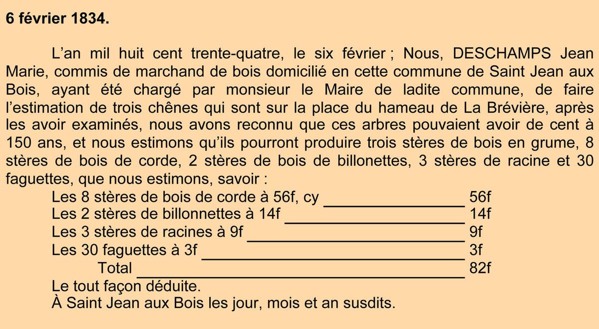 La plaine de La Brévière