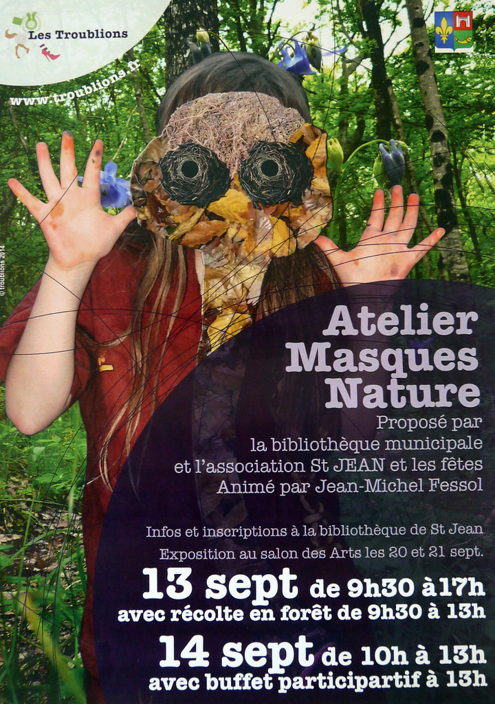 Atelier Masques Nature