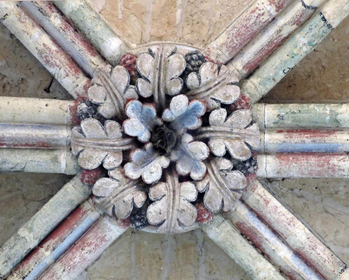 Voûte centrale du transept