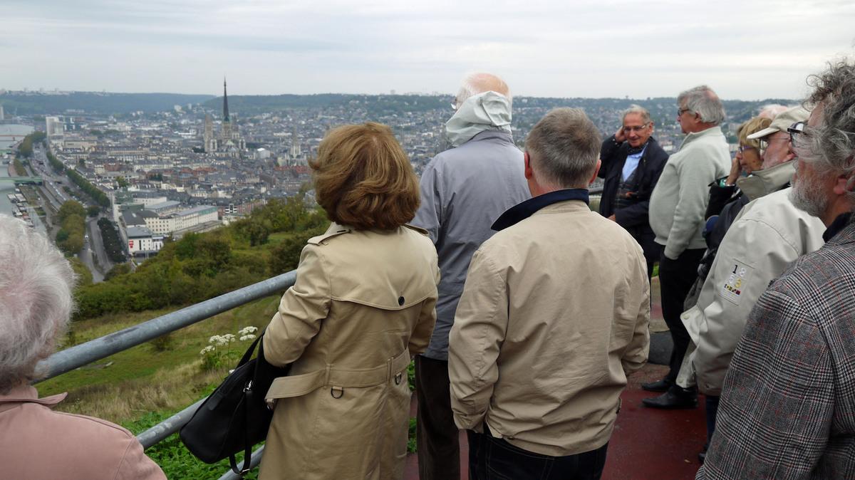 Rouen — L'après midi, visite de la ville