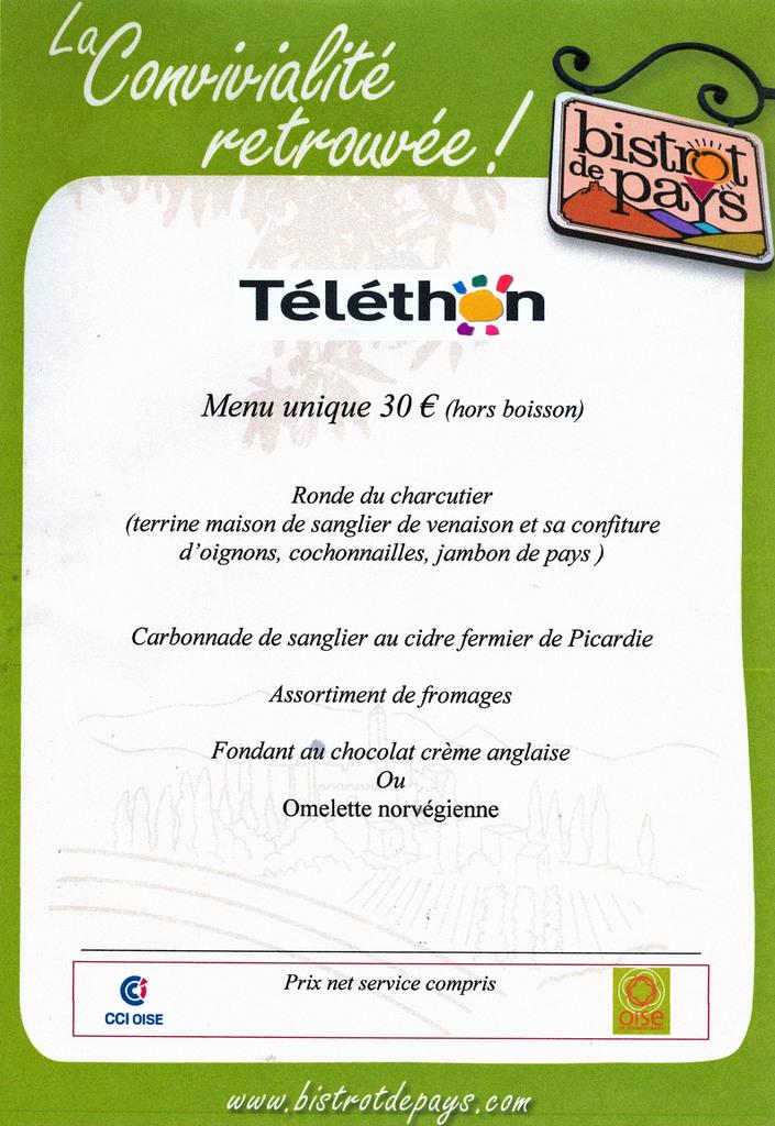 Soirée Téléthon