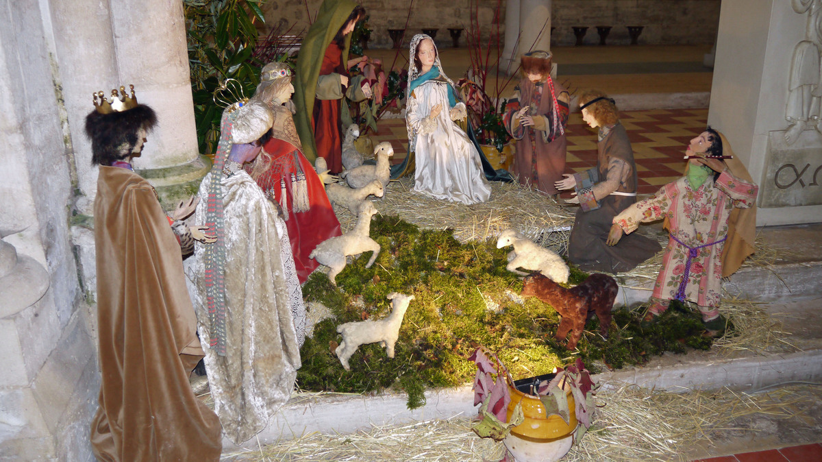 La crèche de Noël 2014