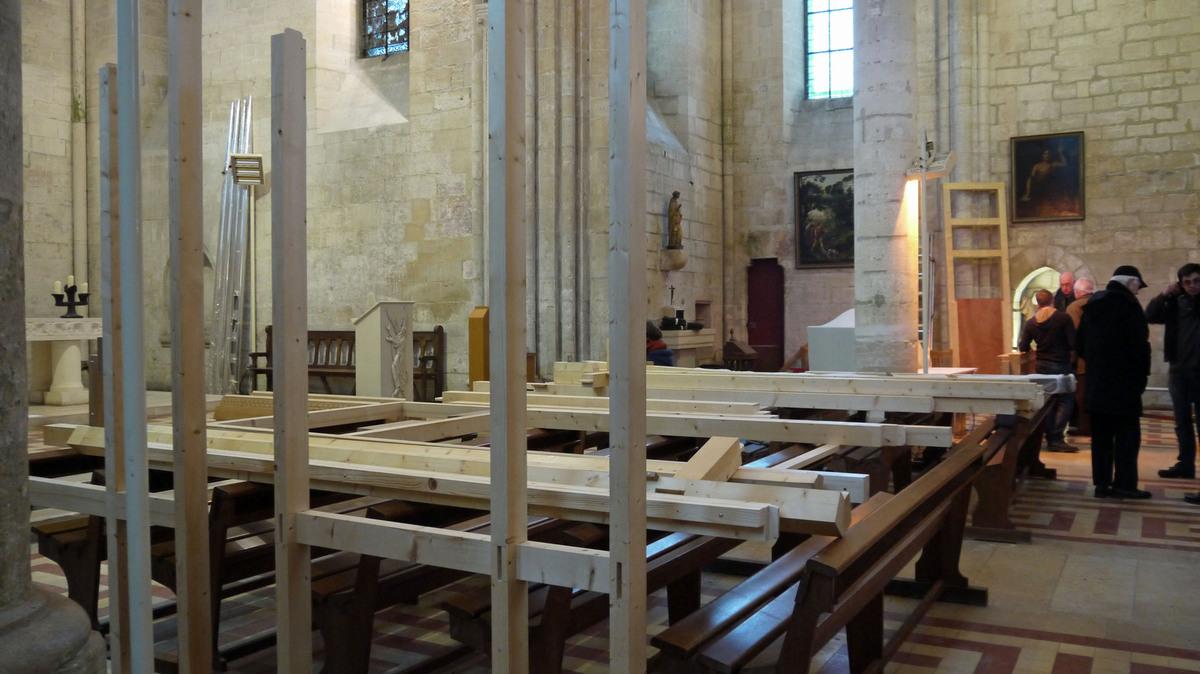 L'arrivée de l'orgue