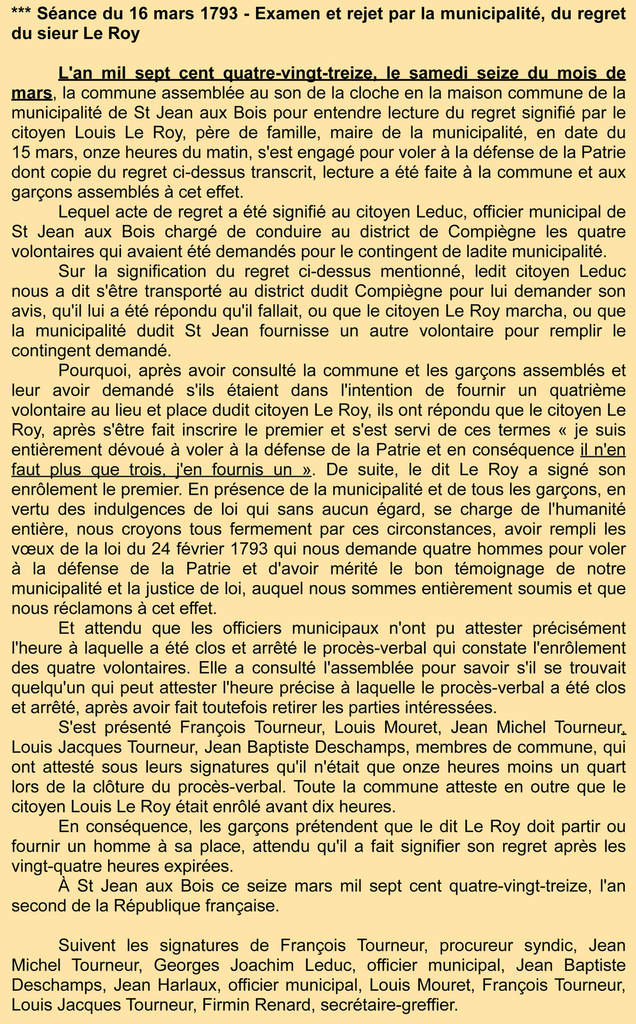 Archives communales - Registre de délibérations 1 D 2
