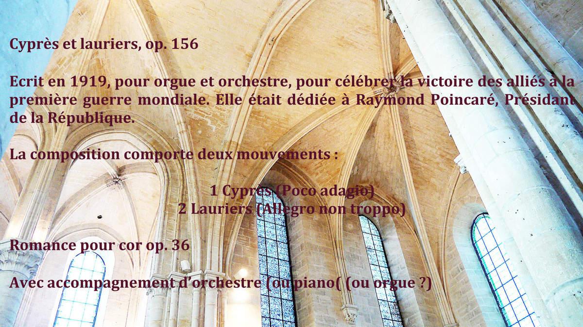 Concert en l'église abbatile