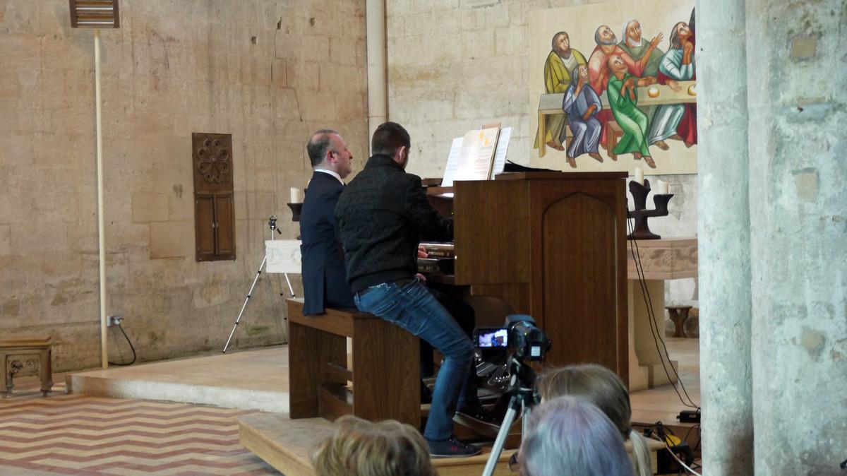 Les orgues - Concert inaugural
