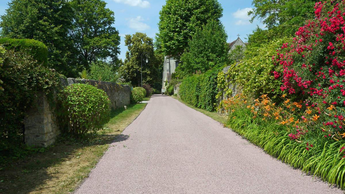 Les rues du village…