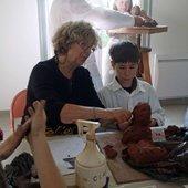 Atelier de sculpture - Le blog de niddanslaverdure
