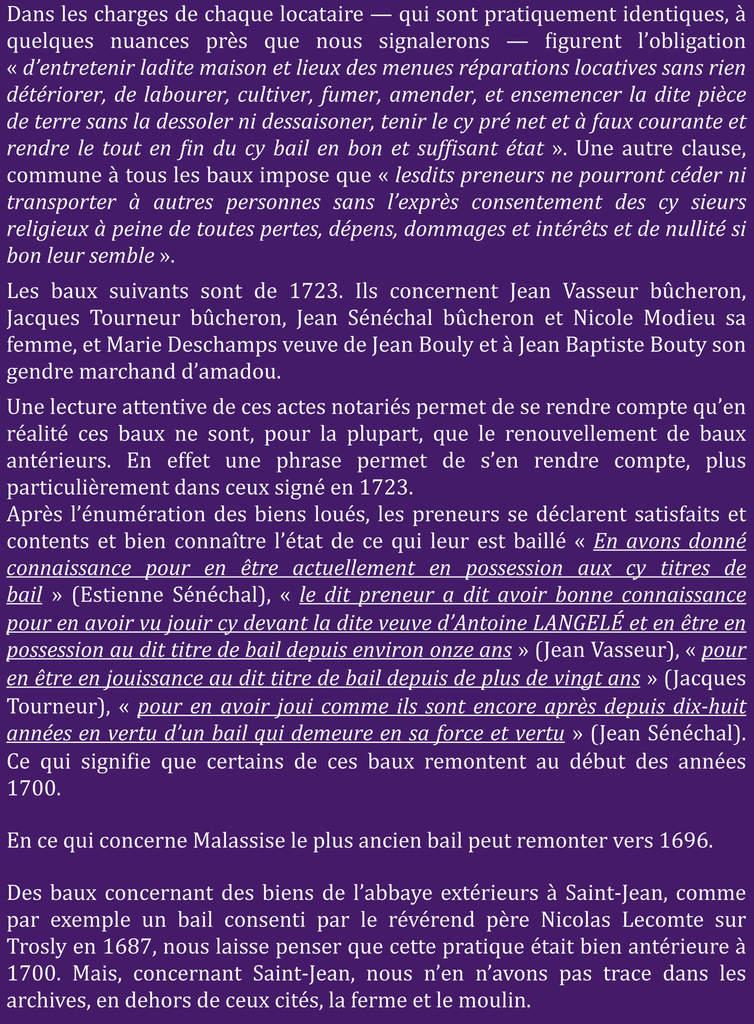 Les actes notariés (3)