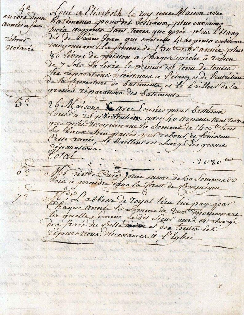 Les actes notariés (2)