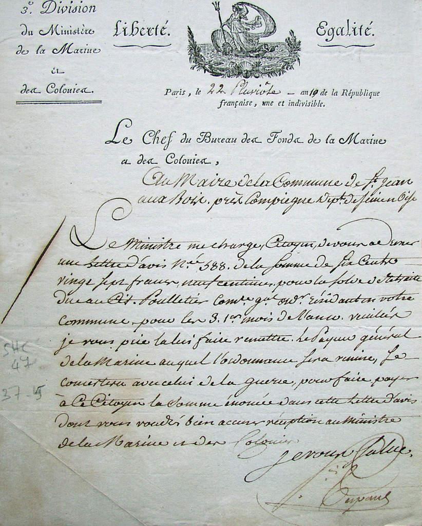 La vente de l'ancien presbytère en 1794 (suite)
